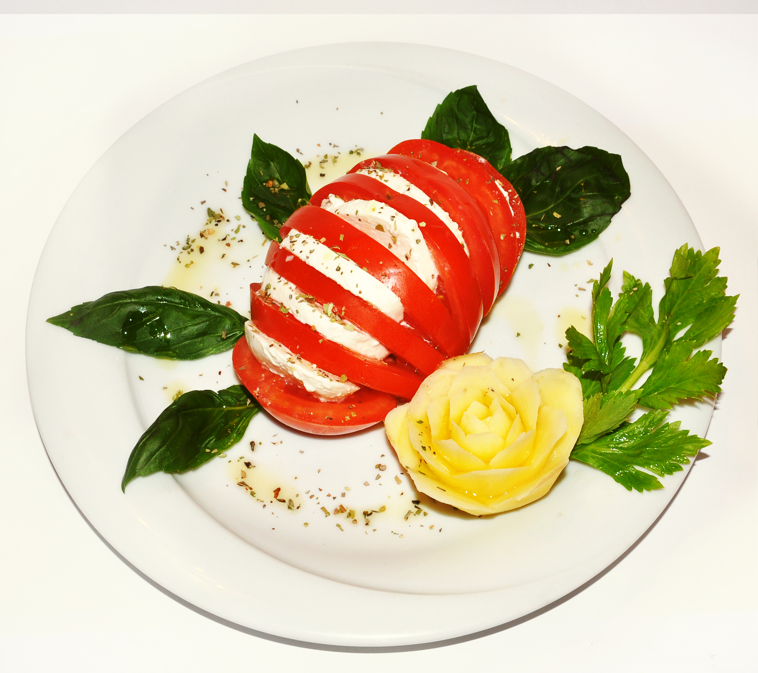 Caprese and Tomatoes